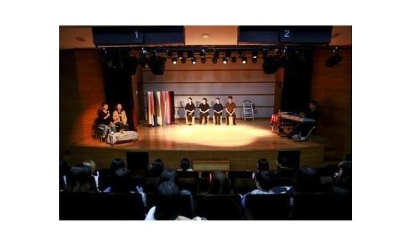 [한겨레] 청각장애인 대상 즉흥연극 '나의 이야기 극장