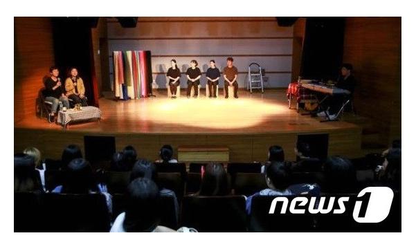 [뉴스1] 청각장애인 이야기 즉흥연기로 공연 '나의 이야기 극장'