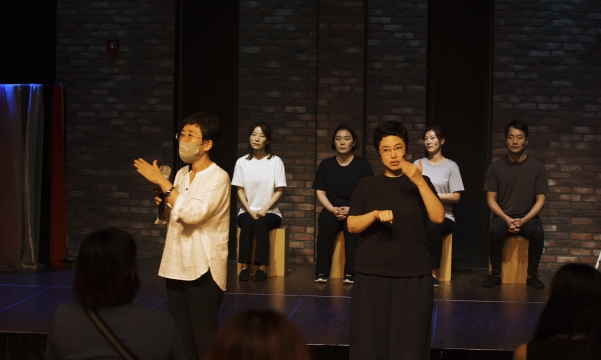 대학로 이음 아트홀 공연(2020.08.22) _ 마음으로 듣는 나의 이야기 극장